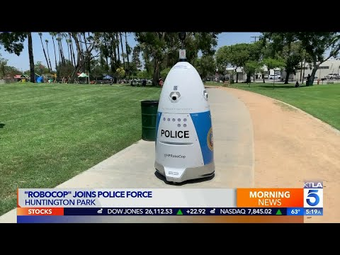 Huntington Park Police To Deploy 'RoboCop' To Monitor Public Areas
