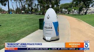 Huntington Park Police to Deploy 'RoboCop' to Monitor Public Areas