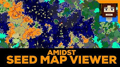 AMIDST - Minecraft  Seed Map Viewer Tutorial