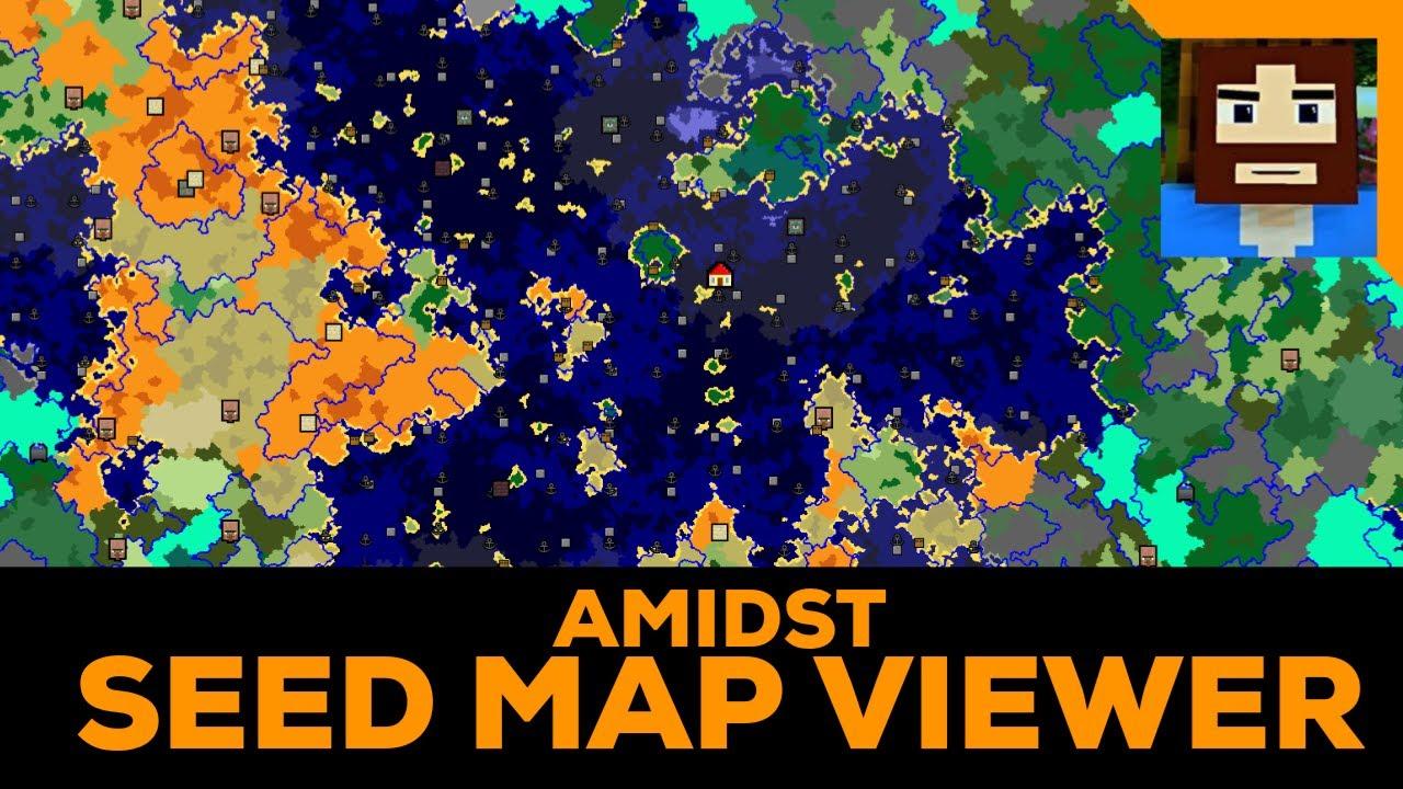 AMIDST - Minecraft Seed Map Viewer Tutorial