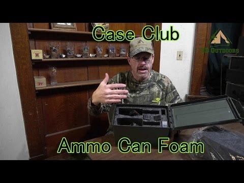 Case Club Ammo Can Foam Inserts