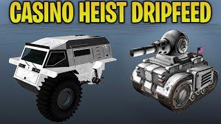 GTA Online Casino Heist Update - ALL DRIPFEED CARS! Minitank, Sultan2, JB700 & More