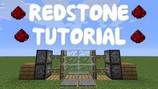 Minecraft 1.9: Redstone Tutorial - Compact 2x2 Piston Door