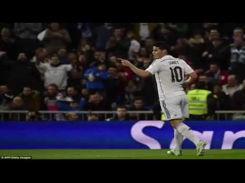 Real Madrid 5-0 Cornella (agg 9-1): James shines in Blancos Copa trouncing.