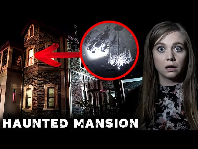 The Chandelier SHOOK in HAUNTED MANSION! | Was Something Leading us There?