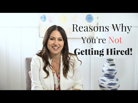 Reasons You're Not Getting Hired! | The Intern Queen