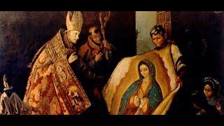Música encontrada no Manto de Nossa Senhora de Guadalupe