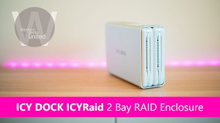 ICY DOCK ICYRaid 2 bay 3 5 HDD RAID Enclosure REVIEW