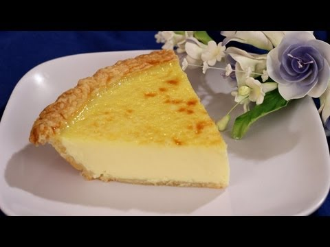 Old Fashioned Custard Pie Recipe