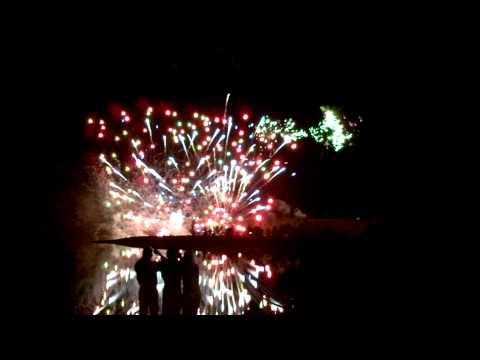 Calgary Stampede 100th year finale fireworks display