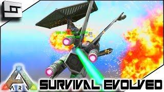 STAR WARS FIGHTER BATTLE! Modded ARK: Mystic Academy E14 ( Ark Survival Evolved Gameplay )