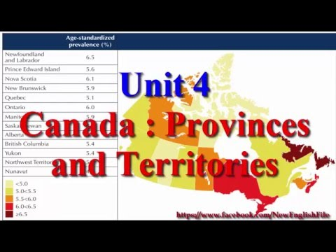 Learn English via Listening Level 3 Unit 4 Canada Provinces and Territories