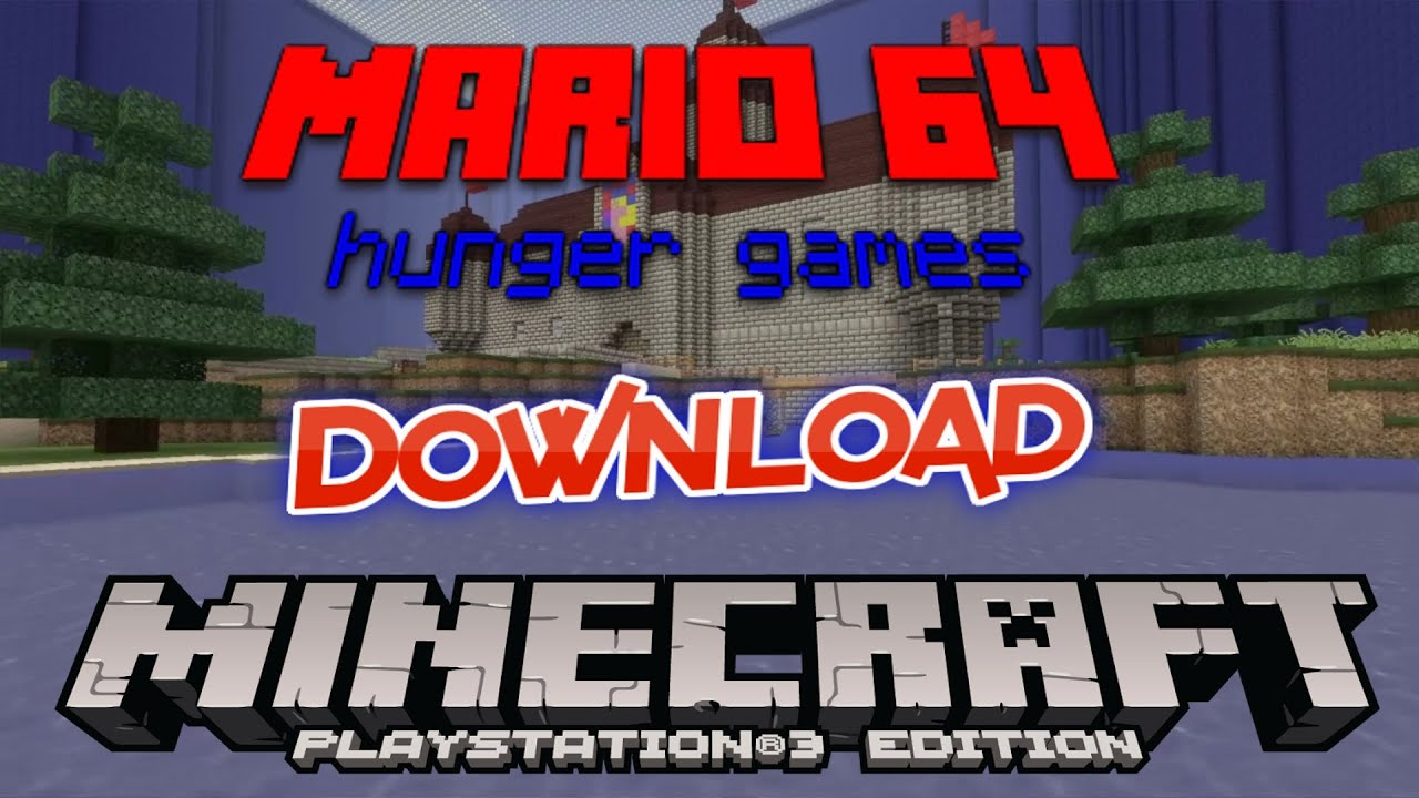 Mario Games For Ps3 : Minecraft ps super mario hunger games youtube
