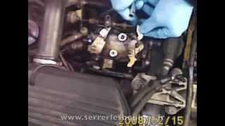 Comment changer le couvercle de la pompe injection diesel