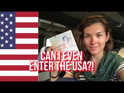 Crossing The USA Border With Syrian, Yemeni, Iraqi Passport Stamps