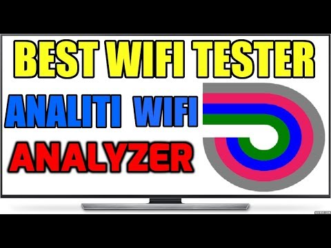 Analiti Wifi Analyzer !!  Best WIFI Tester for your Streaming Devices?