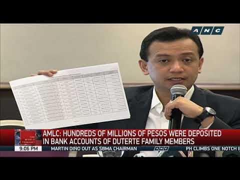 Ombudsman investigates Duterte family's wealth