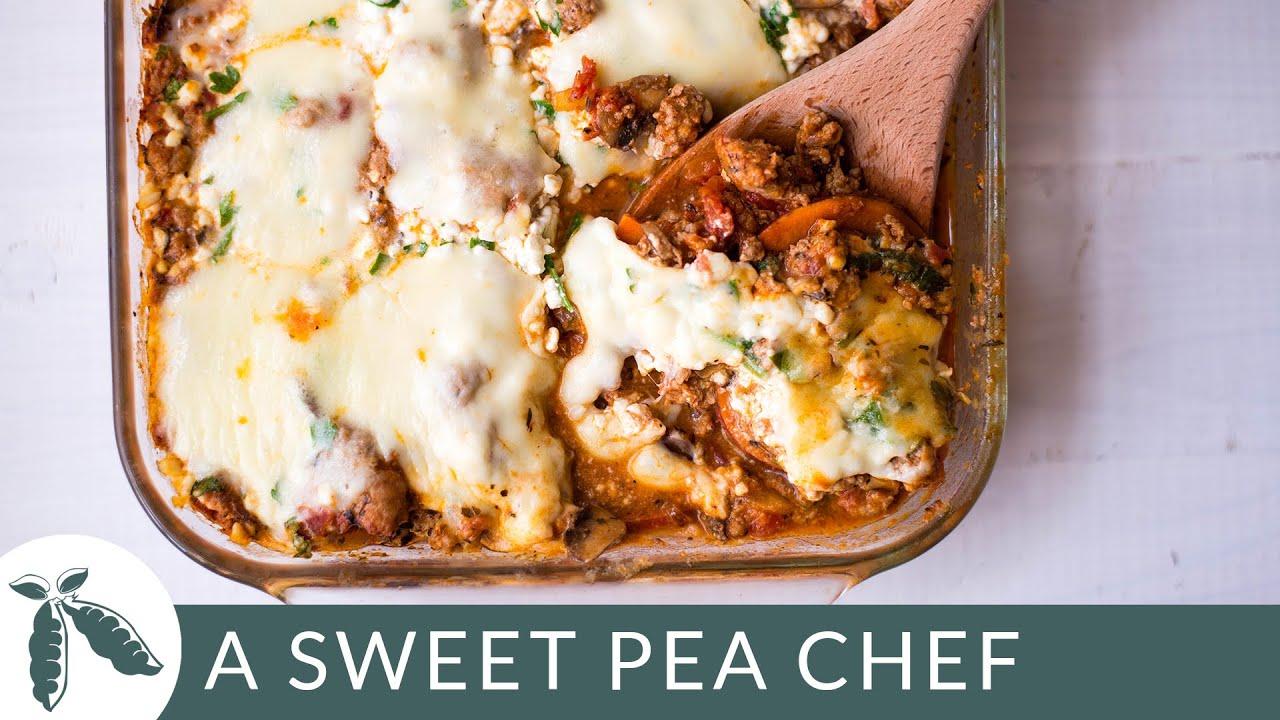 Sweet Potato Lasagna | A Sweet Pea Chef - YouTube