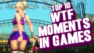 Repeat youtube video Top 10 - WTF moments in gaming