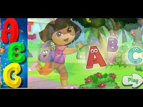 Dora the Explorer  ABC SONG  ABC Songs for Children  Alphabet Songs Dora The Explorer