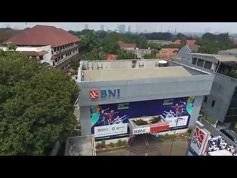 Torch Relay Asian Games 2018, BNI KC Fatmawati- Kl Pasar Minggu BNI Wilayah  Jakarta  BSD