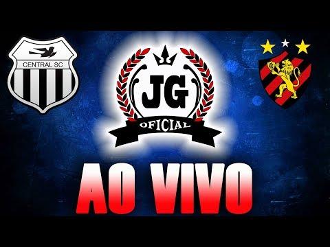 🔴 Central Caruaru x Sport Recife AO VIVO (NARRAÇÃO) [CanalJGEsportes]