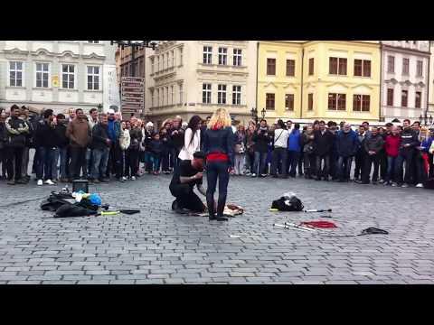street show in prague