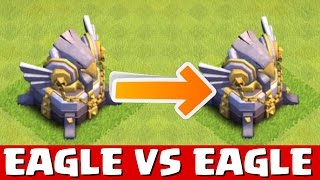 """Clash of Clans - EAGLE VS EAGLE! Which One Is Better? """"NEW!"""" (CoC Update Town Hall 11 Artillery!)"""