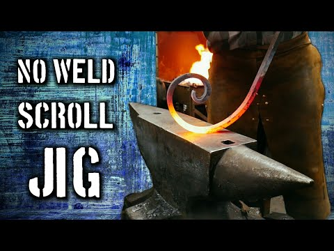 How to Make a No-Weld Scroll Bending Jig