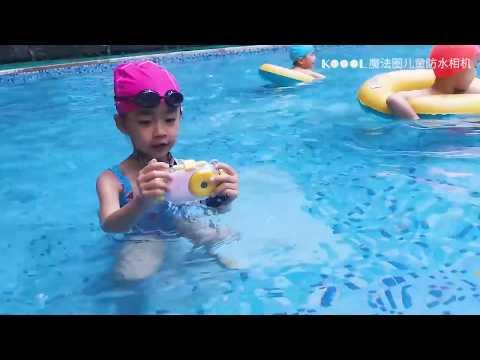 KWK WiFi Children's Waterproof Camera, Mini SLR, Dual Lens, Sport Digital Camera, Christmas Gift