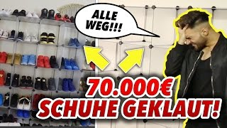 70.000€ Schuhe GESTOHLEN!!! PRANK