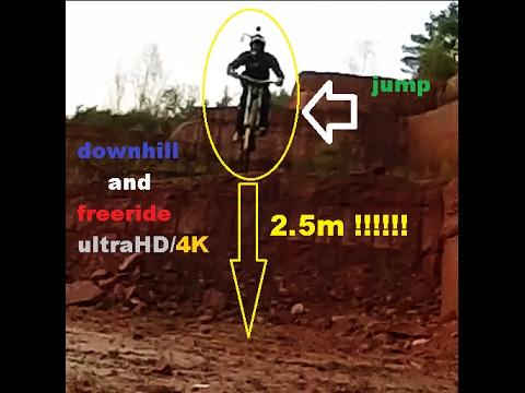 Crazy freeride/crash/ultraHD 4K/