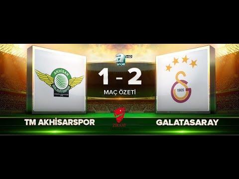 TM Akhisarspor 1 - 2 Galatasaray | ZTK Yarı Final İlk Maç Özeti