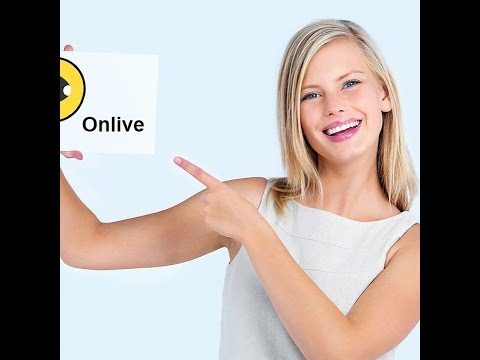 "The Hot Girl Live-Broadcasting  from ""Onlive"",Social Networking Application"