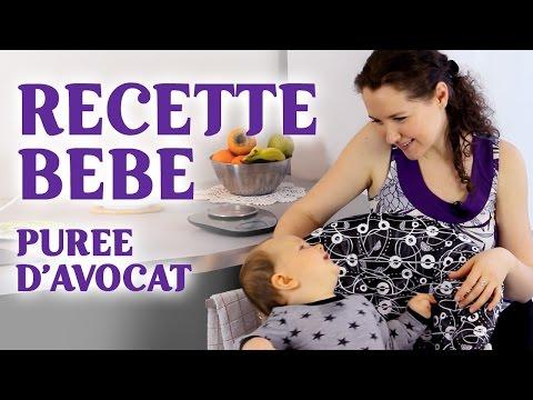 recette-bébé-|-purée-d'avocat-fait-maison