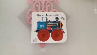 Dönen Tekerlekler - Delikli Kitaplar (1+yaş bebek kitapları)