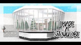 Ich habe einen Schneeglobus in Bloxburg gemacht|| Roblox