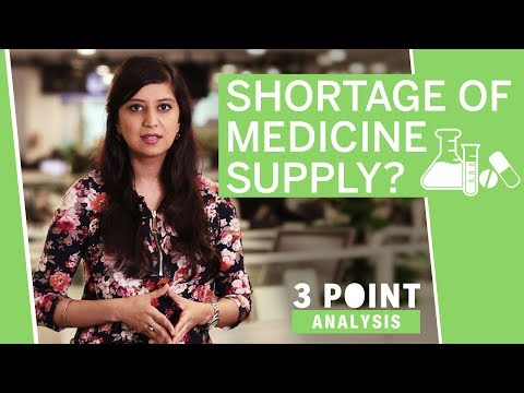 3 Point Analysis | Will medicine supply in India face a shortage?