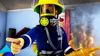 Sam le Pompier en francais 🔥  Meilleur de Julie |  Semaine Mondiale de l'Espace | Dessin animé
