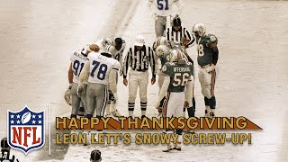 Leon Lett's ThanksGAFFEing Day! | NFL's Worst Plays Ever