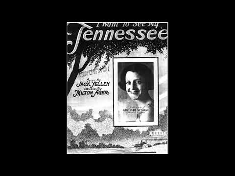 I Want To See My Tennessee (1924)