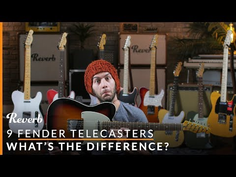 9 Fender Telecasters: Player vs Performer vs Professional vs Vintage and More  Reverb