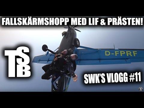 FALLSKÄRMSHOPPNING MED LIF & PRÄSTEN! [SWK's Vlog 11 ]