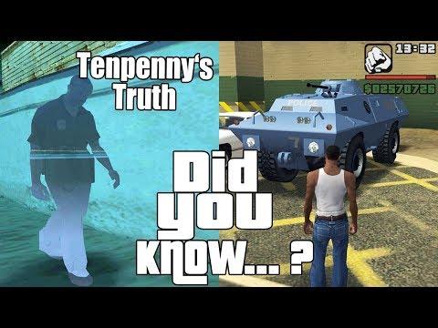 GTA San Andreas Secrets and Facts 21