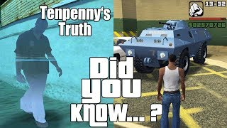GTA San Andreas Secrets and Facts 21