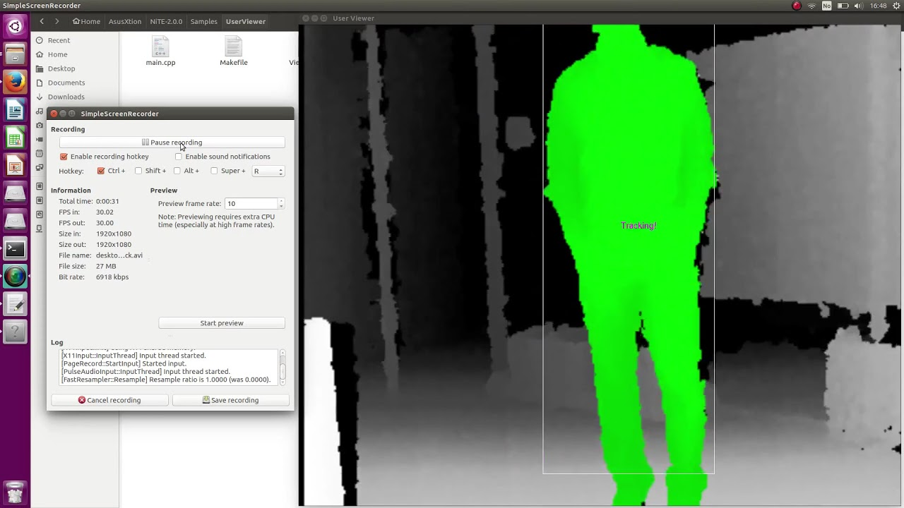Real-time Human Body Tracking Using Depth Camera