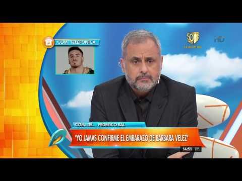 "Federico Bal se cruzó con Rial al aire: ""No voy a permitir que me trates de esclavo"""