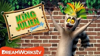 Free To Be You And King Julien | KING JULIEN STAND UP