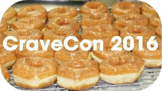 Speed Eating a Dozen Donuts at CraveCon 2016!!