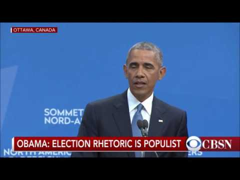 Obama defies Mexican President